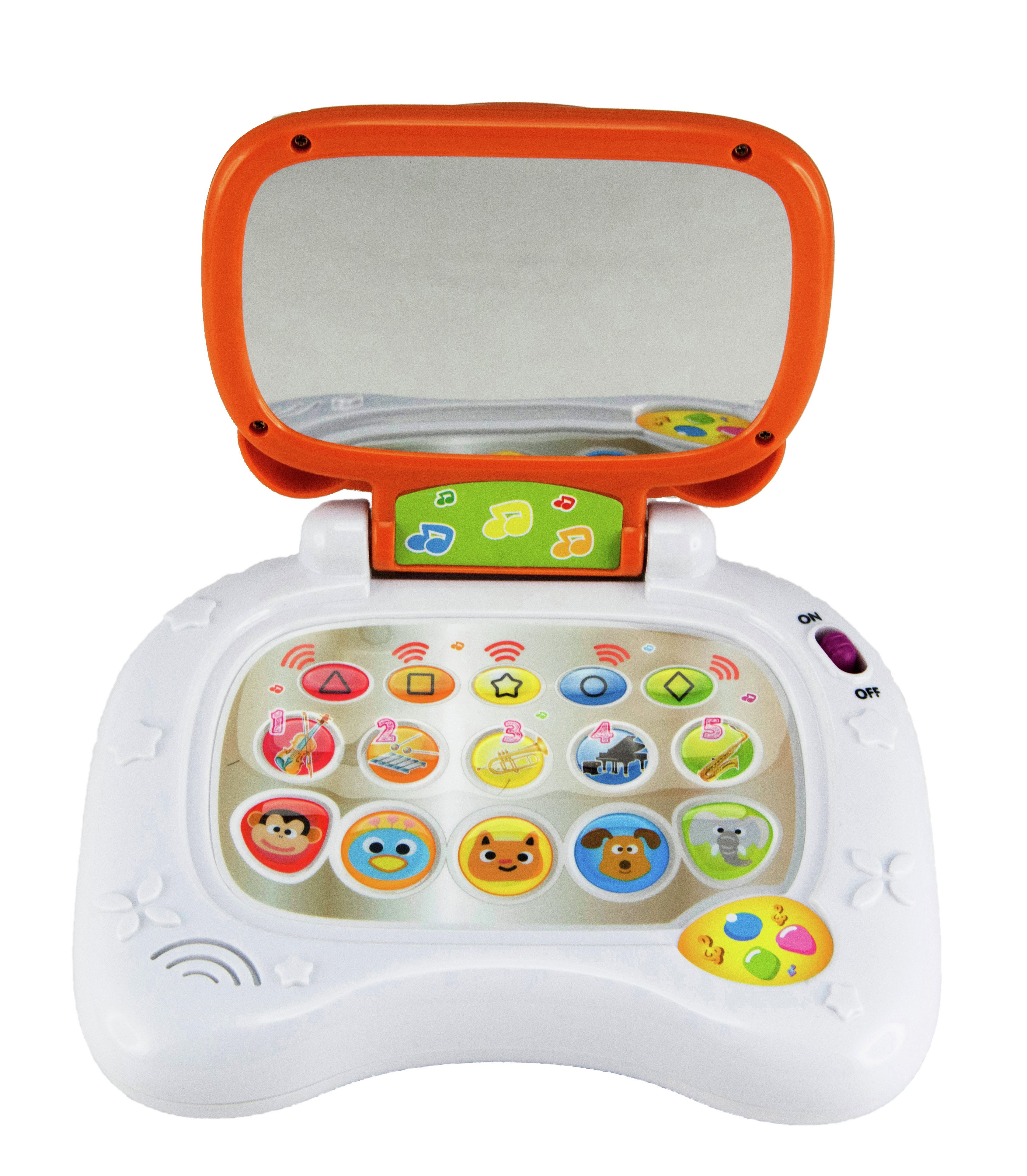 buy chad valley teddy bear laptop | early learning toys | argos