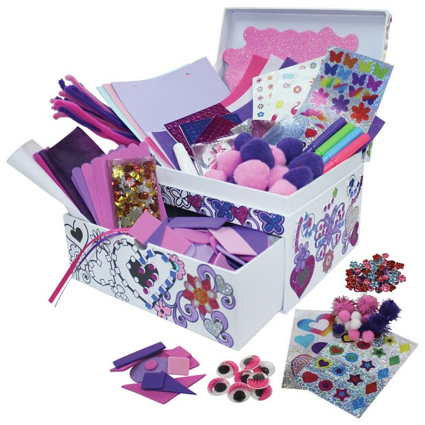 Buy Chad Valley Be U 1000 Piece Sparkle Box Kids Arts And Crafts Kits Argos