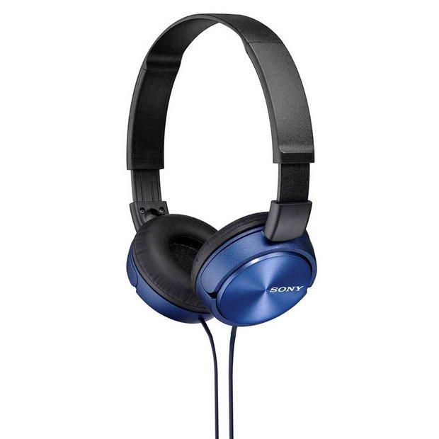 Sony ZX310 On-Ear Headphones - Blue