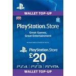 more details on PlayStation Wallet Top-up: £20.00 GBP (PSN)