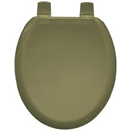 Bemis Chicago Moulded Wood Statite Toilet Seat - Soft Cream