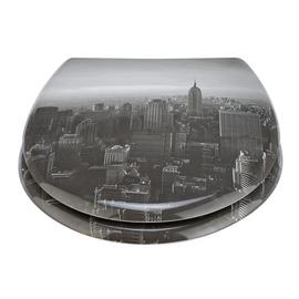 Argos Home Photgraphic New York City Toilet Seat