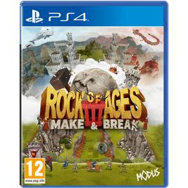 Rock of Ages 3: Make & Break PS4 Pre-Order Game