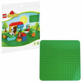 LEGO DUPLO Large Green Building Plate - 2304