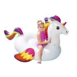Chad Valley Ride On Unicorn Inflatable Lilo