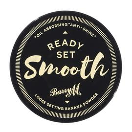 Barry M Cosmetics Ready Set Smooth in Banana Loose Powder