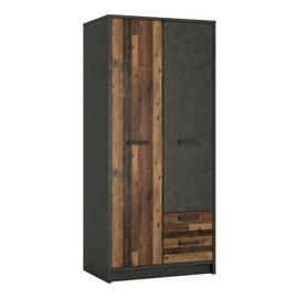 Nubi 2 Door 2 Drawer Wardrobe