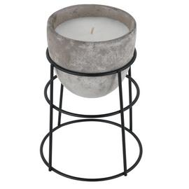 Argos Home Loft Concrete Candle on Stand