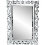 more details on Heart of House Isabella High Gloss Wall Mirror - Silver.