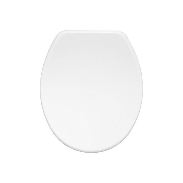 buy bemis orleans moulded wood toilet seat white at. Black Bedroom Furniture Sets. Home Design Ideas
