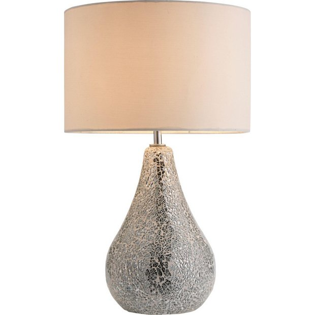 Online Lamp Store: Buy Heart Of House Eloise Crackle Finish Table Lamp