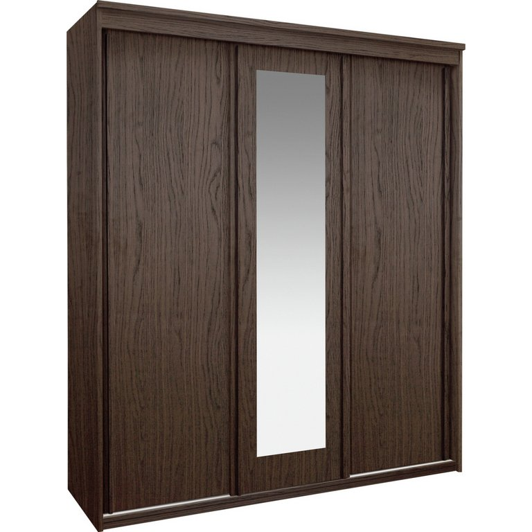 Buy Collection New Hallingford 3dr Sliding Wardrobe Wenge