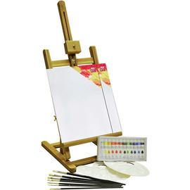 YXSH Acrylic Painting Box & Easel Set - 24 Pieces