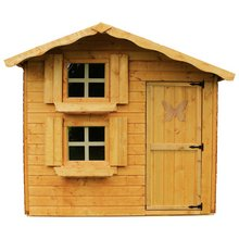 mercia garden products 7x5 double storey playhouse