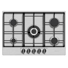 Baumatic BHG720SS Gas Hob - Stainless Steel