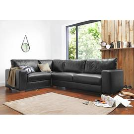 Results for brown leather corner sofa