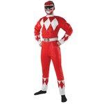 more details on Rubies Power Rangers Men's Red Ranger Costume - XL.