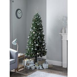 Argos Home 6ft  Slim Christmas Tree -  Evergreen