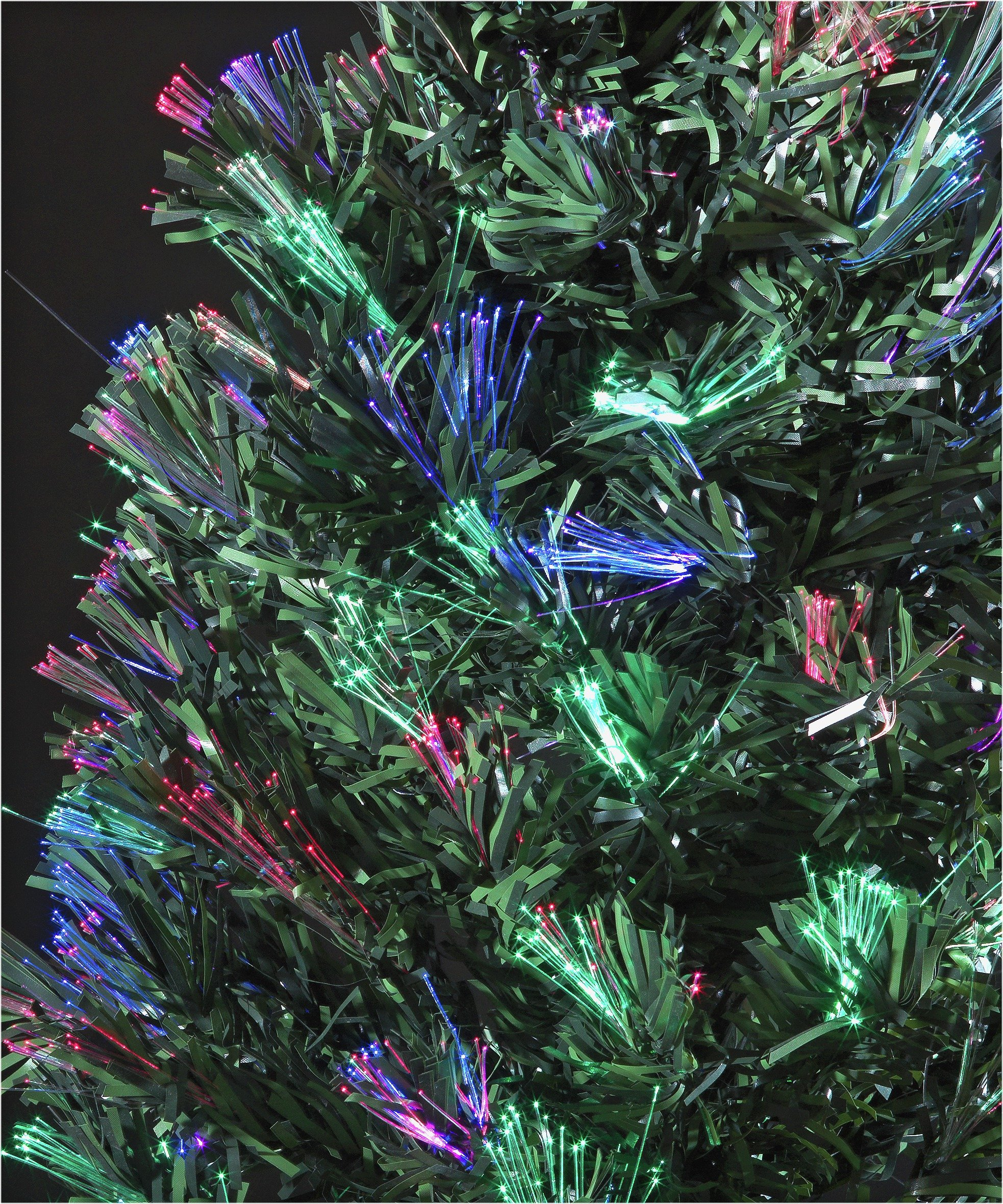 Fibre Optic Trees Christmas Argos 4ft Tree Black Green
