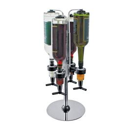 4 Bottle Revolving Optic Stand
