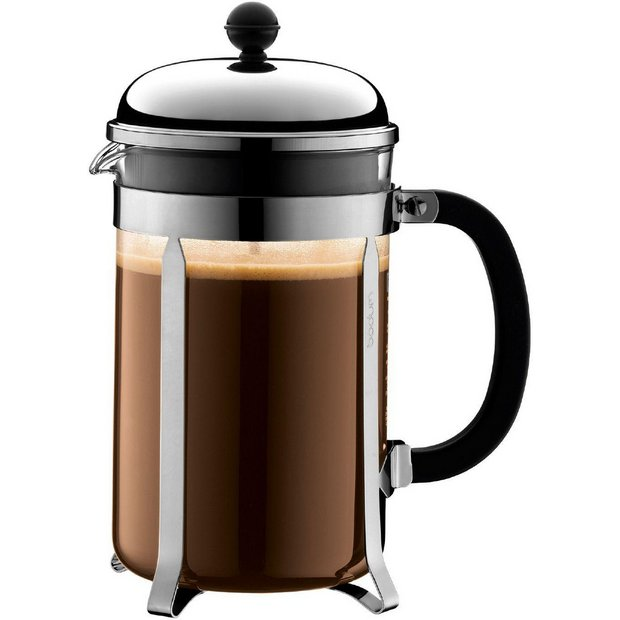 Press Coffee Maker Argos : Buy Bodum Chambord Coffee Maker 12 Cup - Clear at Argos.co.uk - Your Online Shop for Teapots and ...