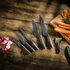 Tower 6 Piece Stone Coated Knife Set with Peeler