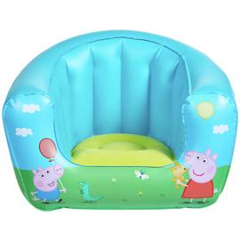 Peppa Pig Flocked Chair