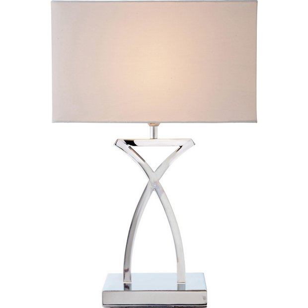Buy Heart Of House Ashley Sculptural Table Light Chrome At Yo