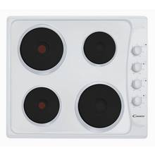 Candy PLE64W Solid Plate Electric Hob - White.