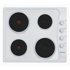 Candy PLE64W Solid Plate Electric Hob - White