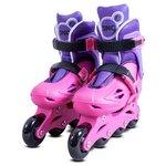 more details on Zinc Inline Roller Skates 13-3 - Pink.