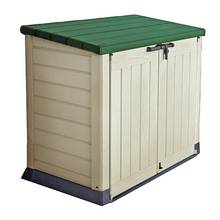 Keter Store It Out Max Storage Shed 1200L - Beige/Green