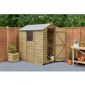 Forest Wooden 6 x 4ft Overlap Apex Shed