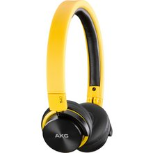 AKG Y40 Portable On-Ear Headphones - Yellow
