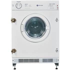 White Knight C8317WV Integrated Tumble Dryer - White