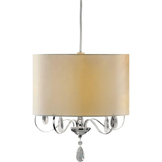 Homebase Wall Lamp Shades : Buy Heart of House Marietta Chandelier Shade - Ivory at Argos.co.uk - Your Online Shop for Lamp ...