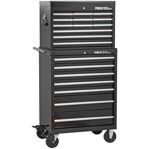 buy hilka procraft professional 19 drawer combination tool. Black Bedroom Furniture Sets. Home Design Ideas