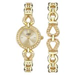 more details on Limit Ladies' Gold Plated Stone Set Watch and Bracelet Set.