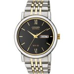 more details on Citizen Men's Two-Tone Eco-Drive Bracelet Watch.