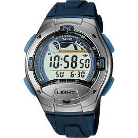 be80f8e11319 Casio Men s Sport Tide and Moon Graph Blue Resin Strap Watch