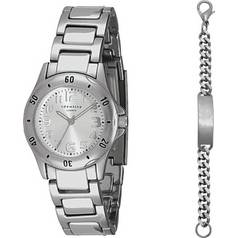Identity London Silver Coloured Watch Gift Set