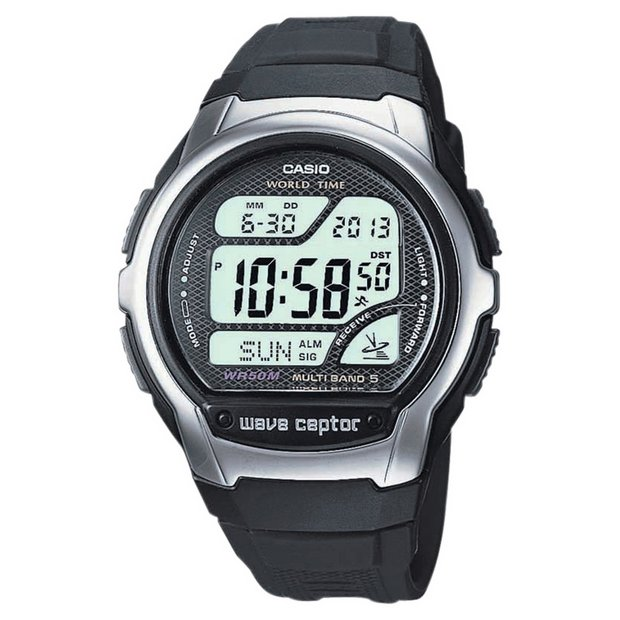 buy casio men s watches at argos co uk your online shop for more details on casio men s wave ceptor digital lcd watch