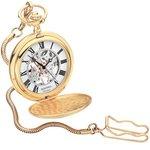 more details on Sekonda Men's Classique Mechanical Skeleton Pocket Watch.