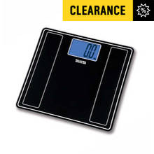 Tanita Glass Digital Bathroom Scale - Black