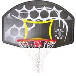 more details on Sure Shot Coloured Basketball Backboard and Ring.