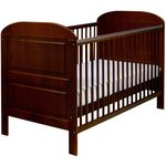 more details on East Coast Nursery Angelina Cot Bed - Cocoa.
