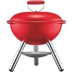more details on Bodum Fyrkat Charcoal Picnic BBQ - Red.