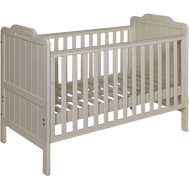 buy tutti bambini alexia cot bed vanilla at. Black Bedroom Furniture Sets. Home Design Ideas