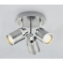 Collection Livorno 3 Light Bathroom Spotlight Chrome