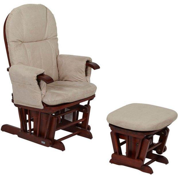 buy tutti bambini gc35 glider chair walnut at. Black Bedroom Furniture Sets. Home Design Ideas